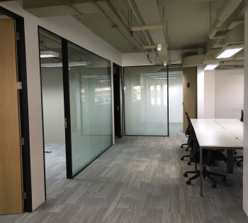 For Rent Move-In Ready Office Space in Makati for 120 to 150 Pax