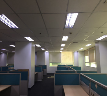For Lease Whole Floor Semi-Furnished Office Space in McKinley Hill For BPO 24/7