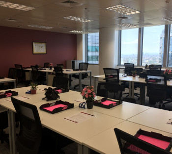 For Rent Ready to Move- In Fully- Furnished Office Space in Makati For Big Teams