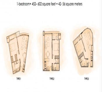 1 Bedroom 56 sqm