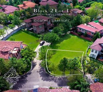 320 Sq.m Exclusive Corner Lot in Portofino Heights