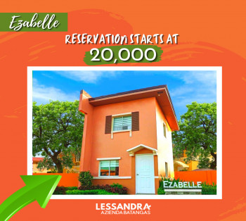 Affordable House and Lot for Sale in Batangas City_Ezabelle NRFO