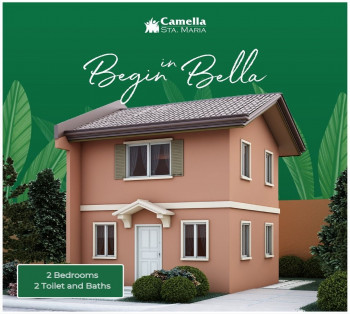 Two Bedroom Unit Available at Camella Sta. Maria